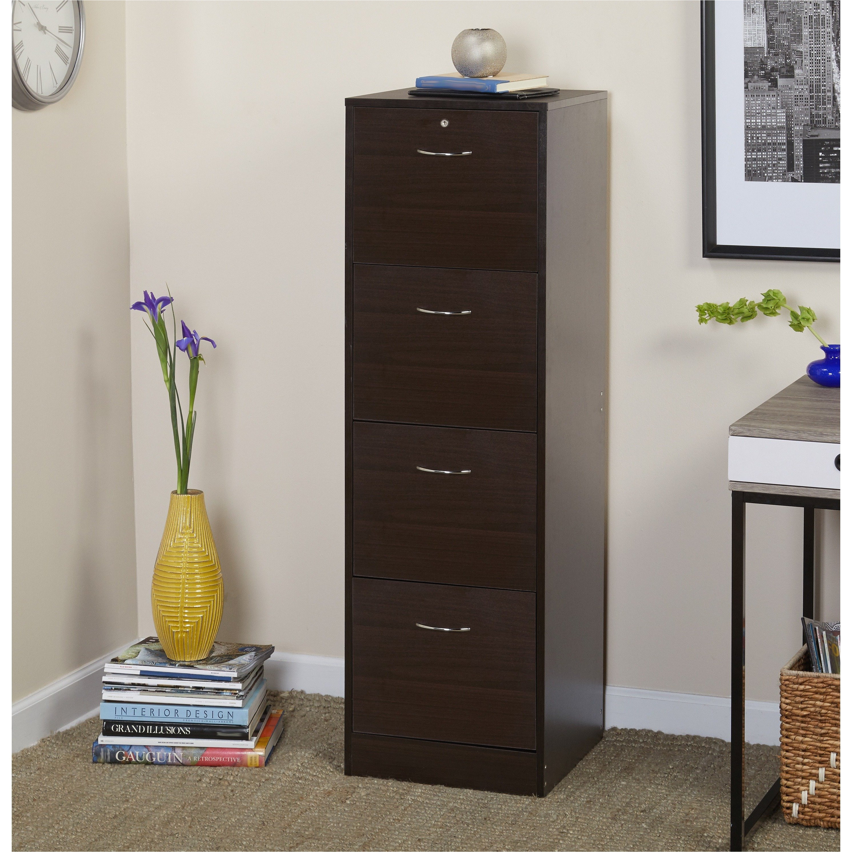 shop simple living wilson filing 4 drawer cabinet free shipping today overstock com 8025455