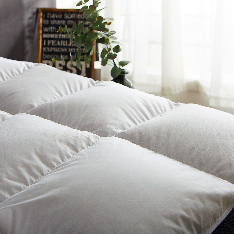 amazon com globon winter white goose down comforter king size texcote nano treated 60 oz 700 fill power 400 thread count 100 cotton shell