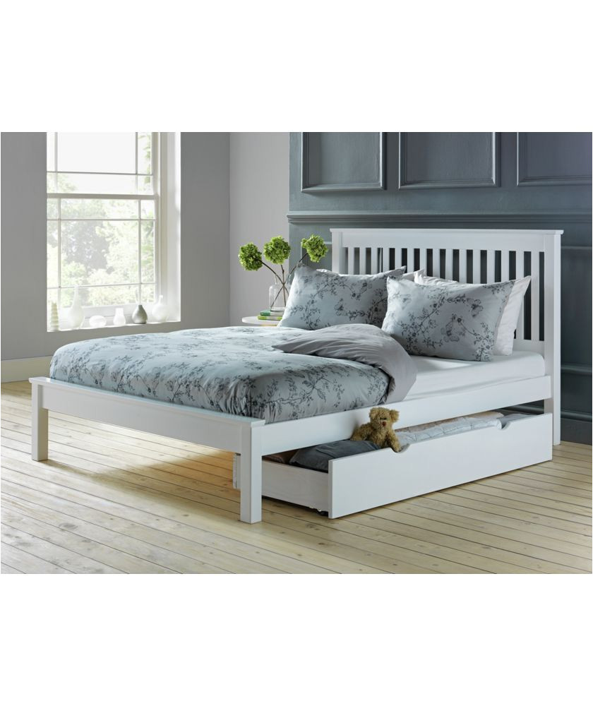 buy aspley double bed frame white at argos co uk your online shop for bed frames