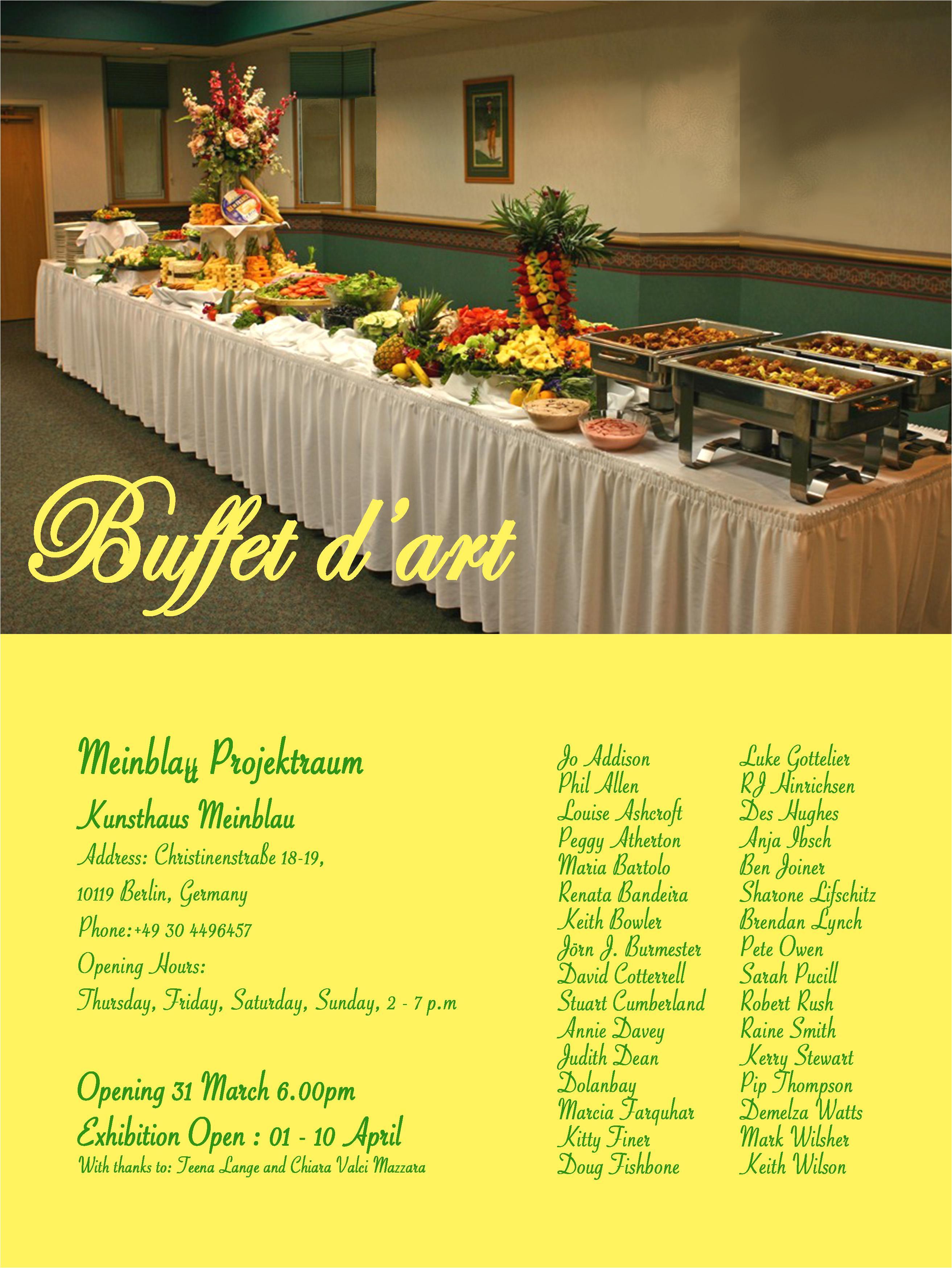 buffet d art