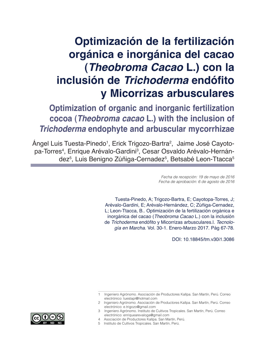 pdf changes in soil physical and chemical properties in long term improved natural and traditional agroforestry management systems of cacao genotypes in