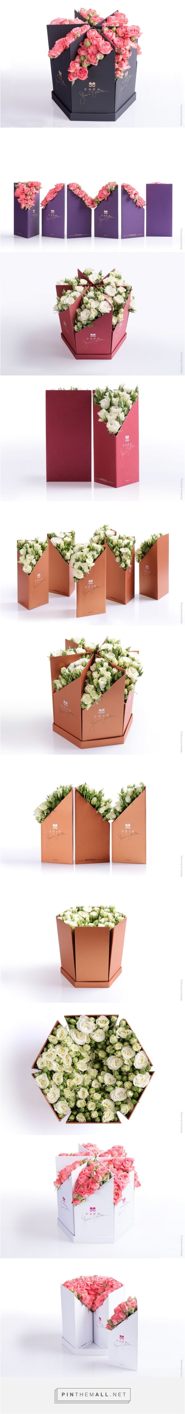 coco fiori by backbone branding source world packaging design pin curated by