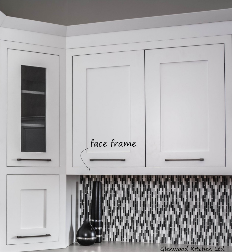 wood face frame makes a very sturdy cabinet can be easier to install than frameless cabinets crown mouldings can be face mounted directly to the