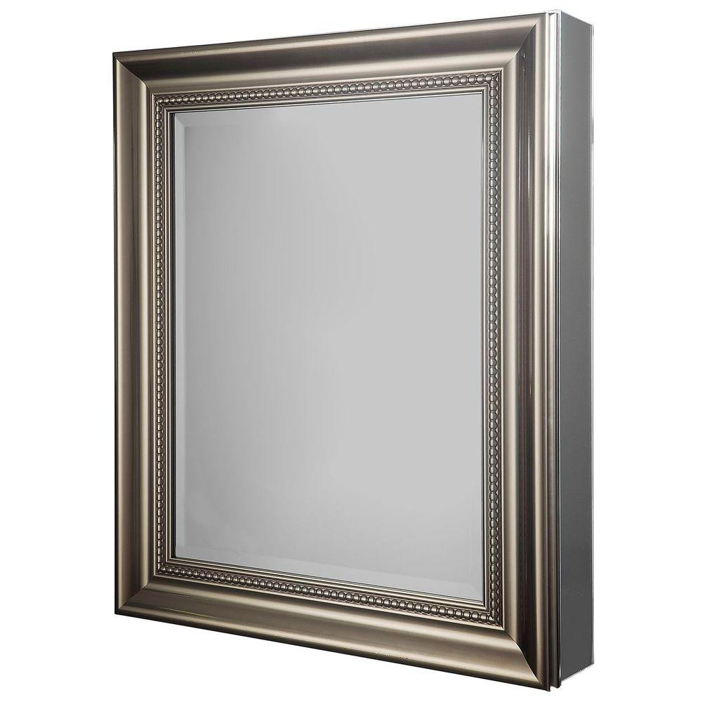glacier bay 24 in w x 30 in h framed recessed or surface