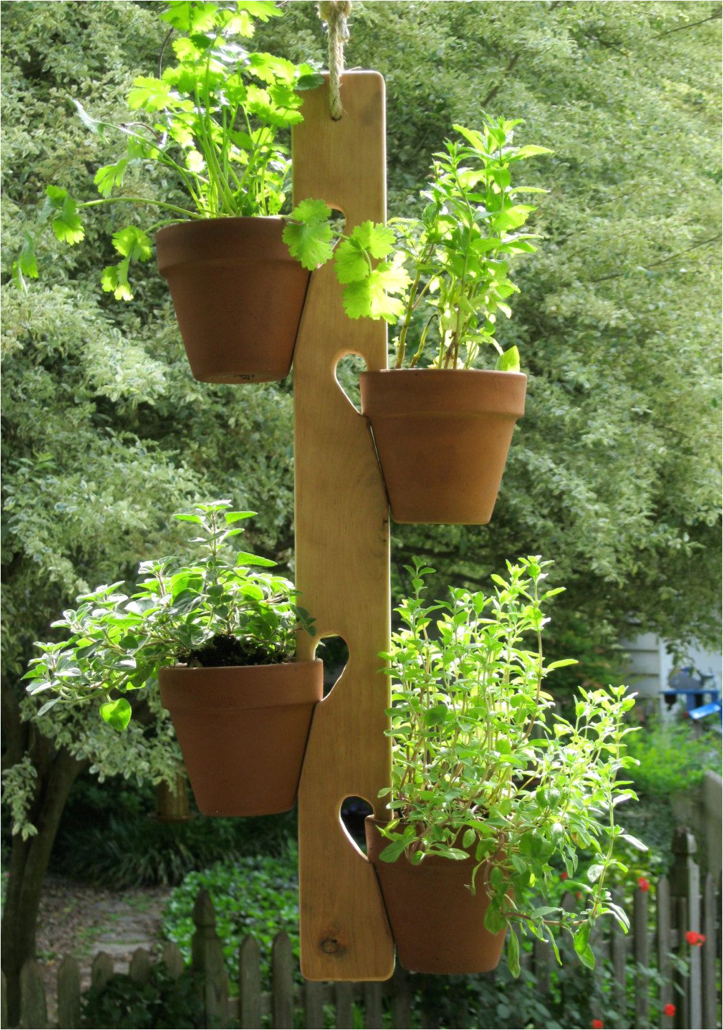 wooden dowel plant hanger google search