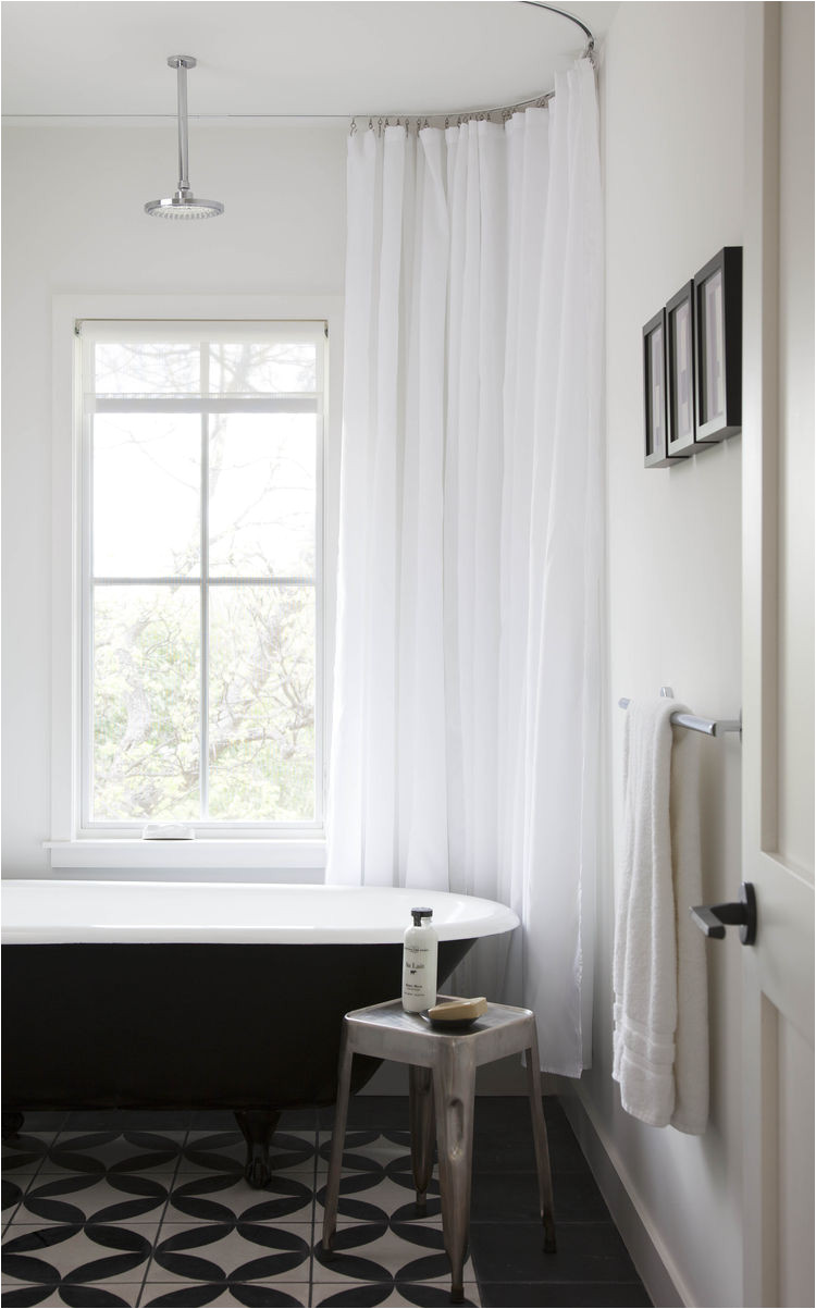 guest bath with black white tile1 jpg