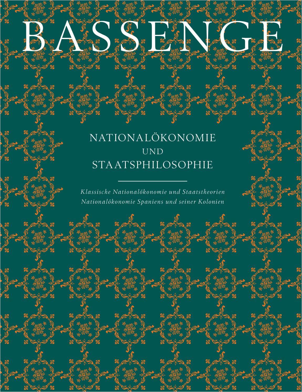 bassenge buchauktion 112 nationalokonomie und staatsphilosophie by galerie bassenge issuu