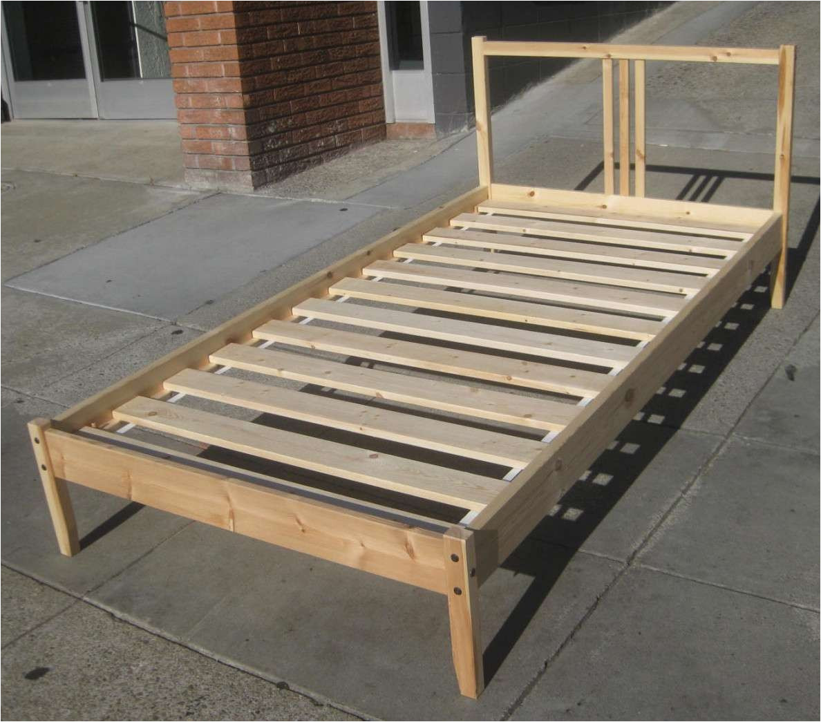 bed frame slats home depot best of how to build a twin bed frame lovely twin