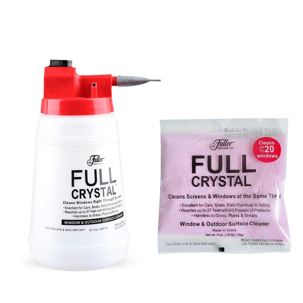 full crystal car wash cleaning watering can window cleaner glass cleaning handheld spray bottle outdoor glass