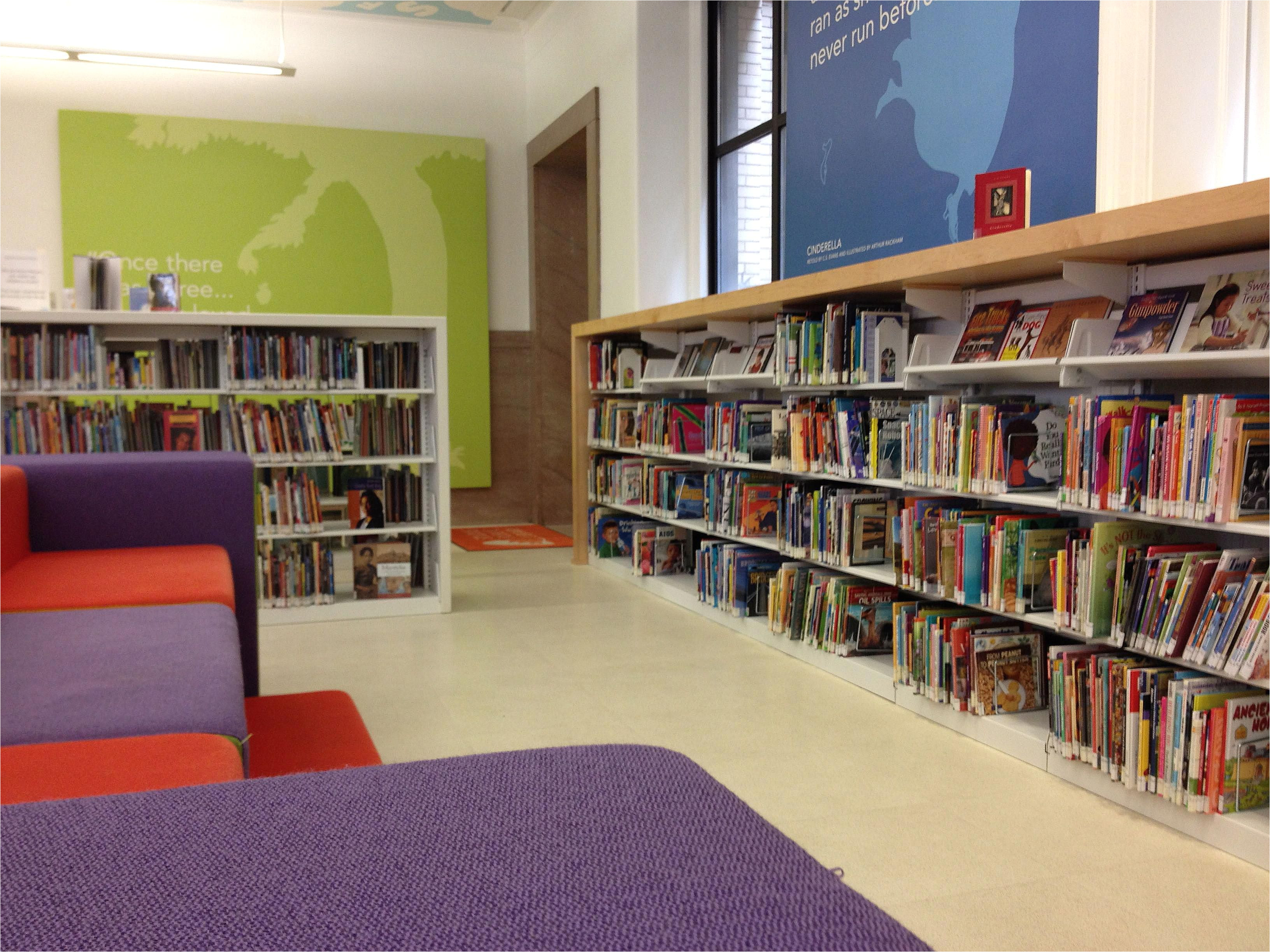 children s library at st louis central library