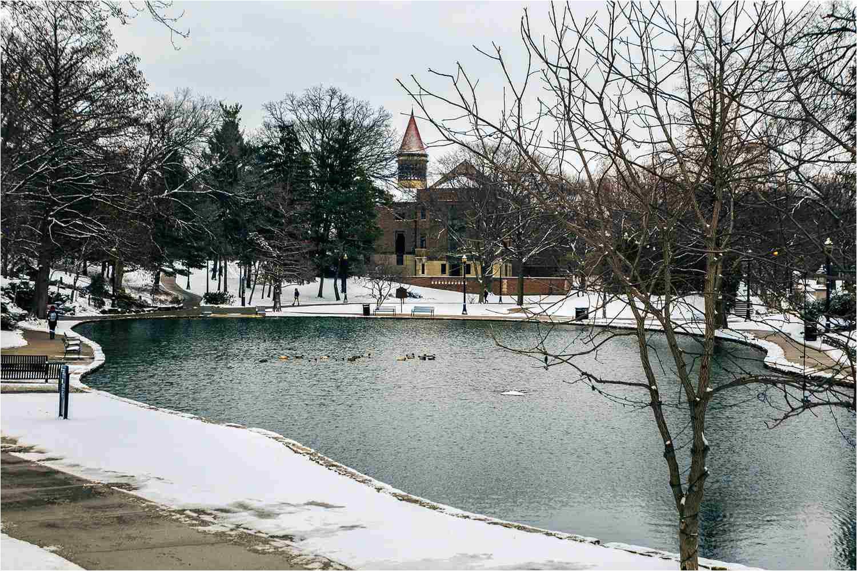 mirror lake ohio state university