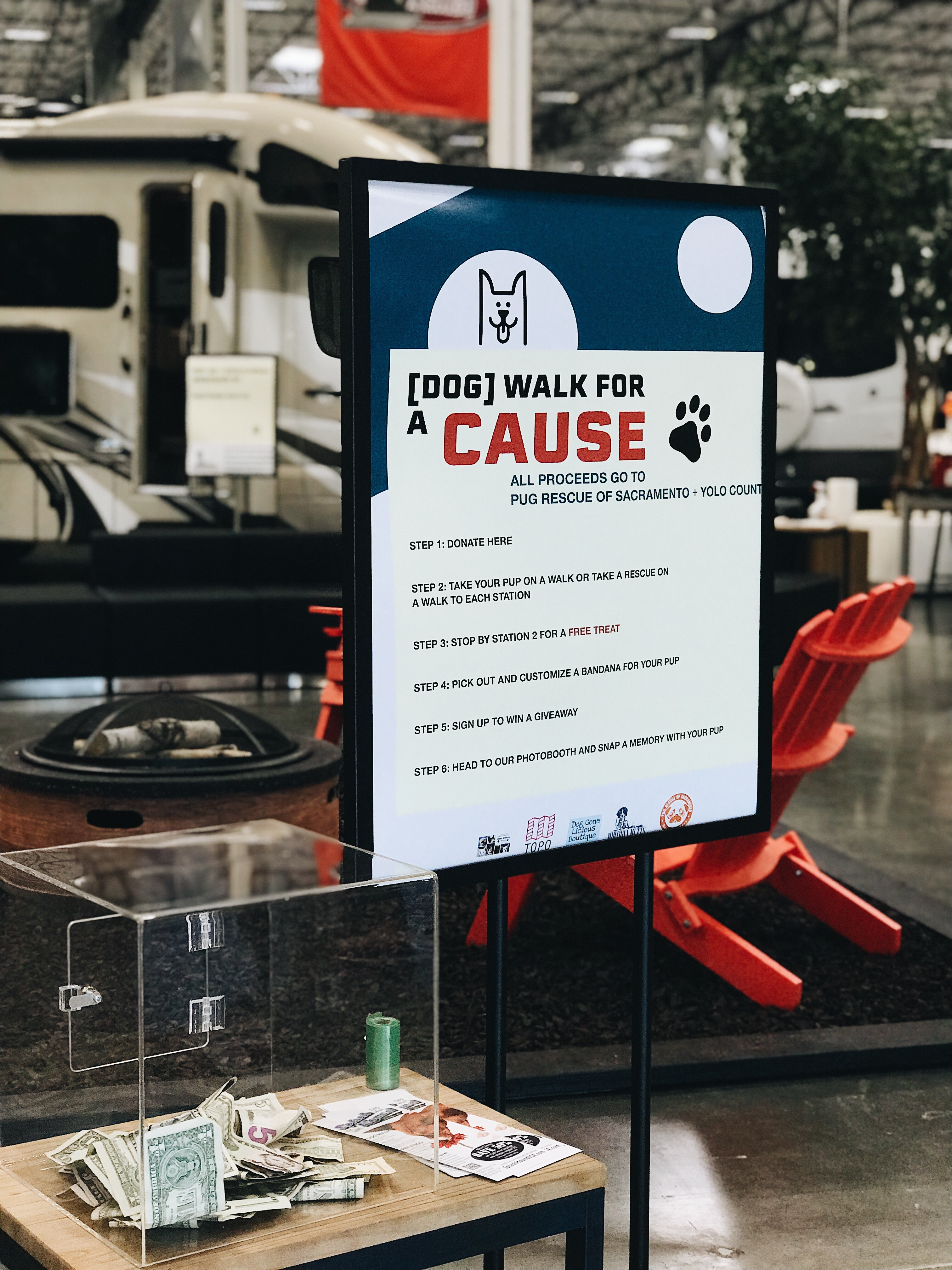 this is what happens when la mesa rv hosts a dog event for a cause