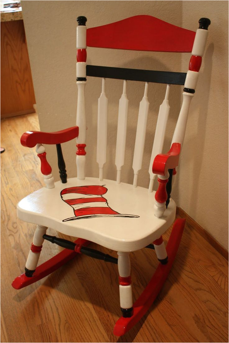 dr seuss rocking chair