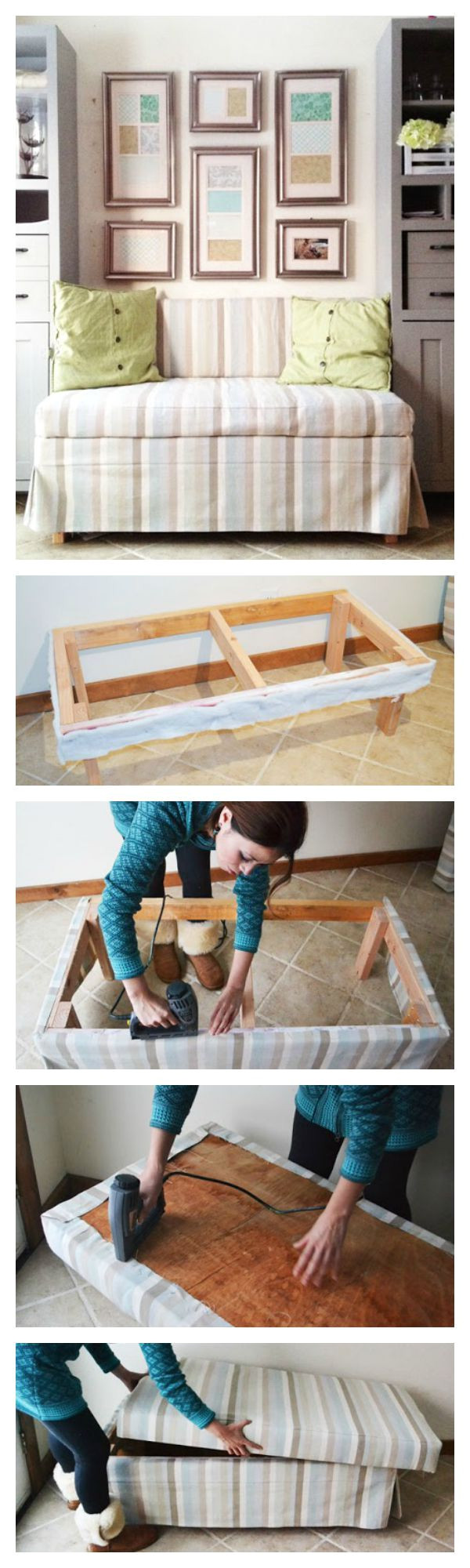 ana white build a 2x4 upholstered banquette seat free and easy diy project and a diy sofadiy upholstered storage