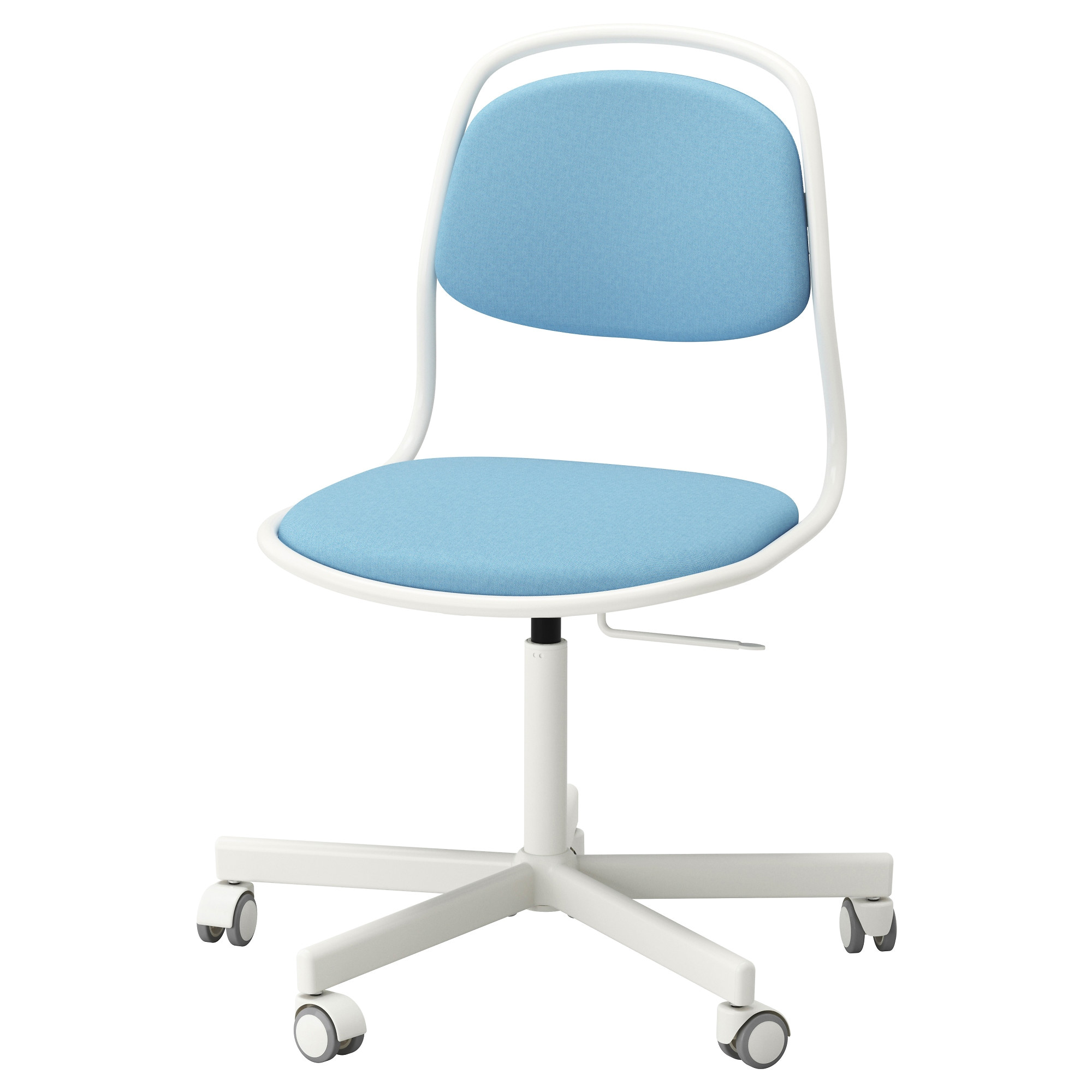 ikea a rfja ll sporren swivel chair you sit comfortably since the chair is adjustable in height