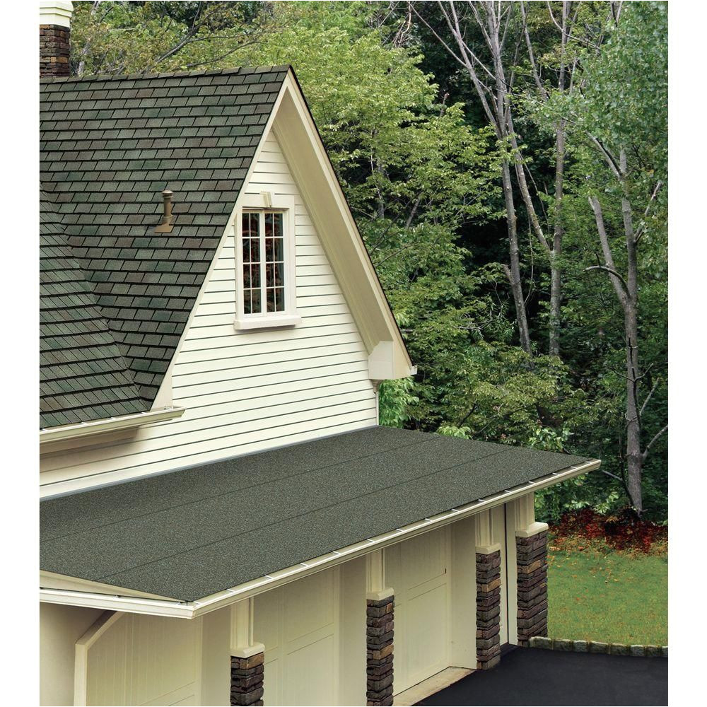 gaf liberty 3 ft x 34 ft 100 sq ft sbs self adhering cap sheet in black 3732100 the home depot