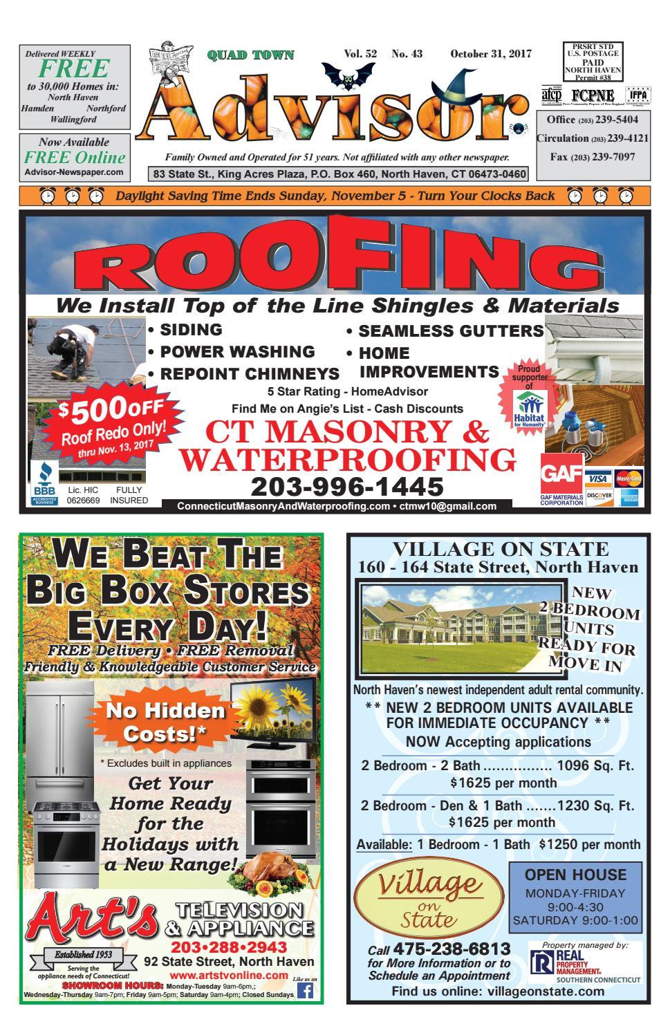 Gaf Virtual Home Remodeler the Advisor October 31 2017 by the Advisor Newspaper issuu