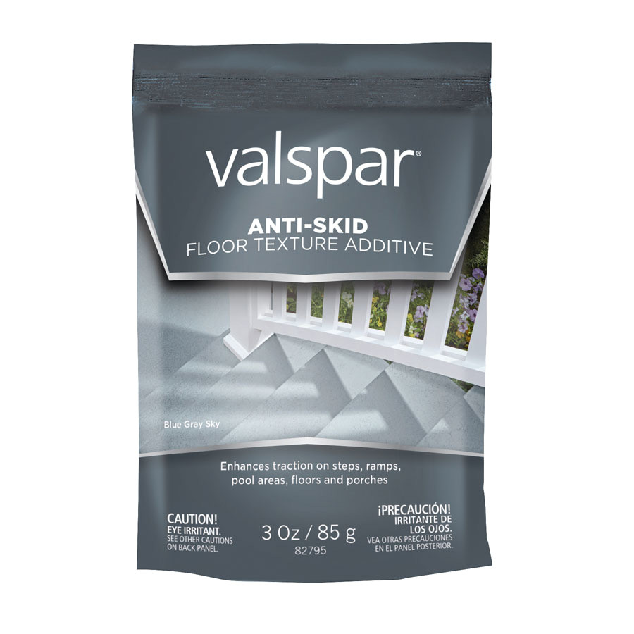 valspar interior exterior anti skid textured concrete additive actual net contents 3