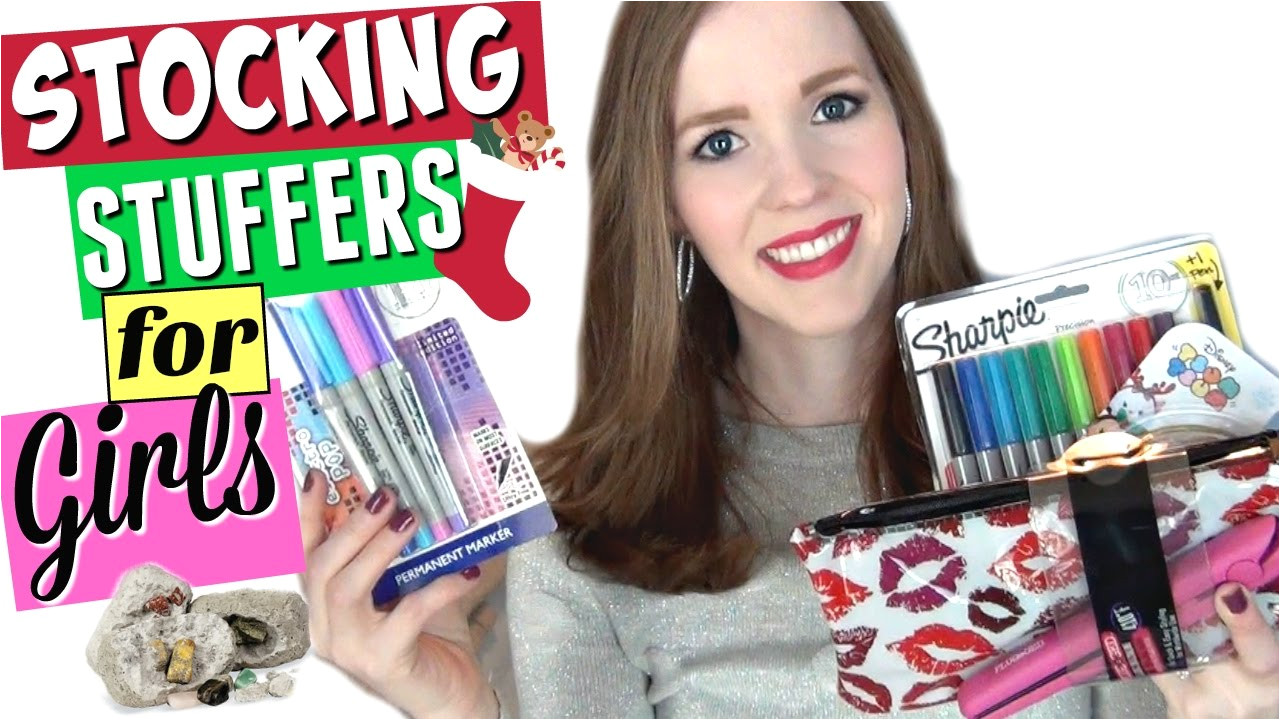 stocking stuffers for girls what s in my 12 year old s stocking youtube