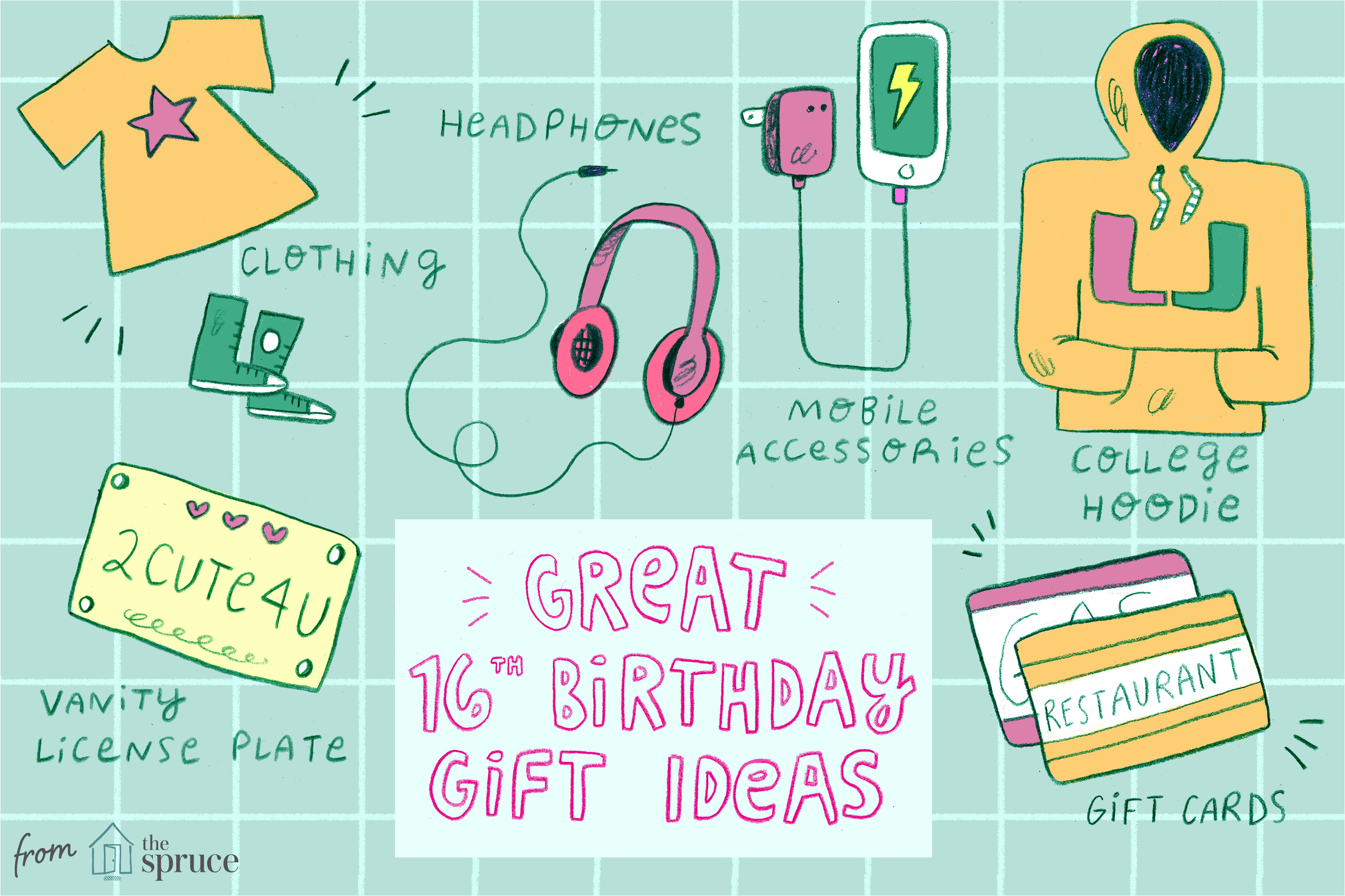 Gift Ideas For My 13 Year Old Daughter 20 Awesome 16th Birthday Gifts