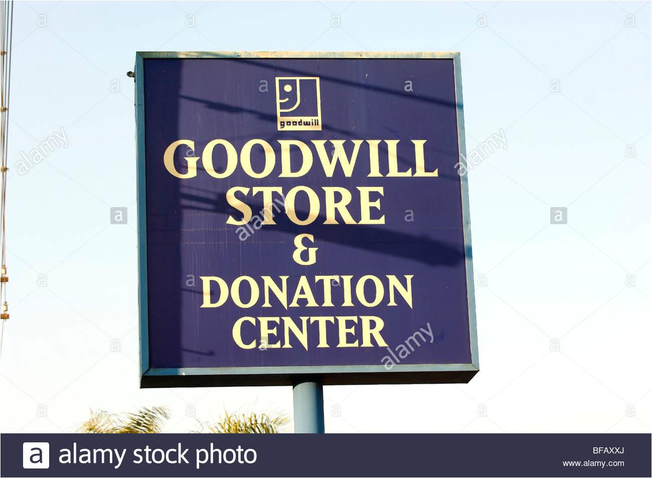der goodwill store und spende center secondhand laden befindet sich in orange ca gibt steuerlich