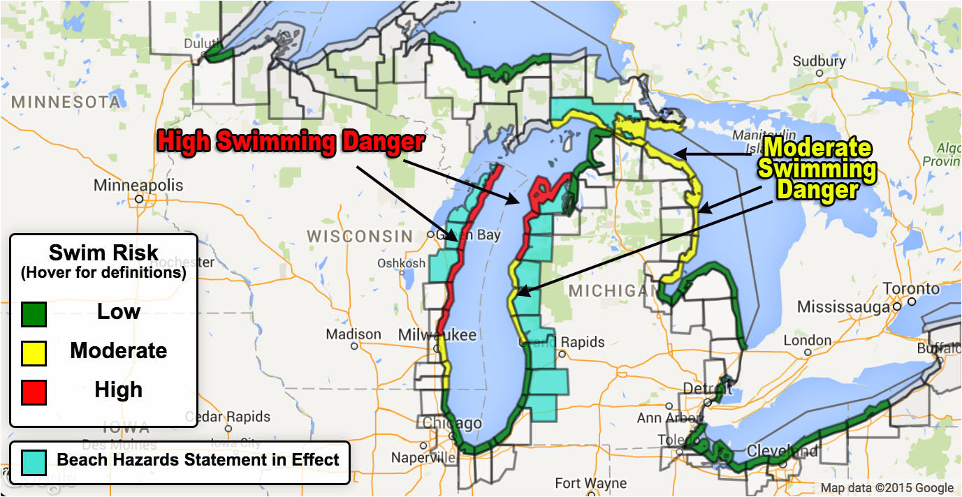 7 foot waves hazardous swimming expected on some great lakes beaches mlive com
