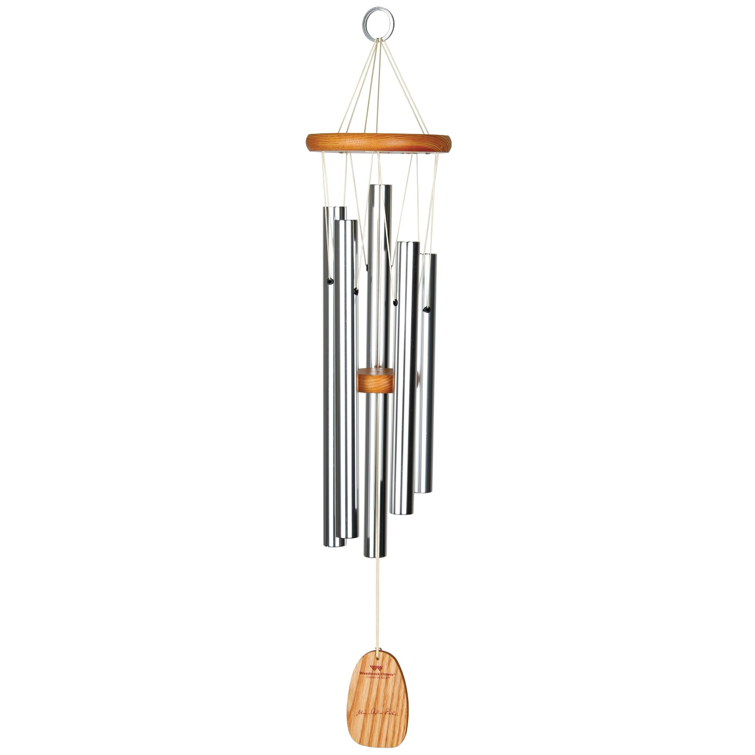 amazon com woodstock chimes cbwsi bach chime fine tuned wind chimes garden outdoor