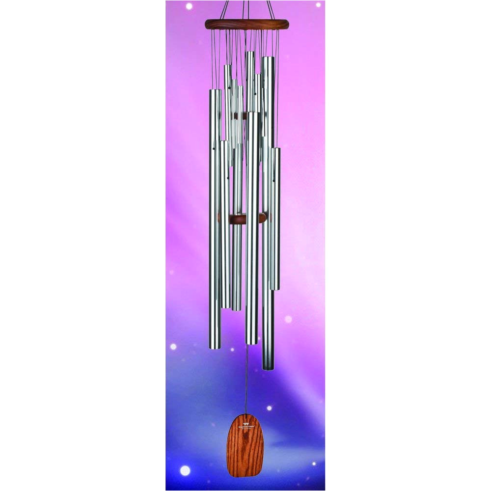 amazon com woodstock chimes mmso magical mystery chime 55 inch space oddyssey wind bells garden outdoor