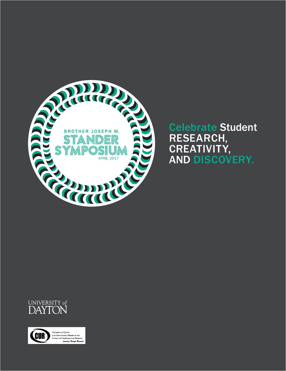 univ of dayton stander symposium 2017 abstract book by university of dayton stander symposium issuu