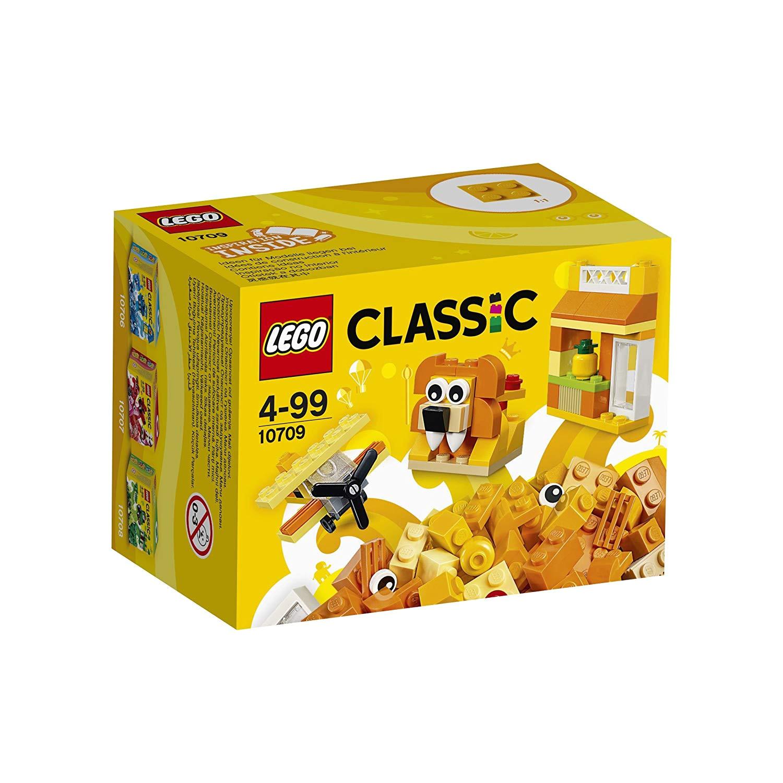 lego 10709 classic kreativ box baukasten orange amazon de amazon pantry