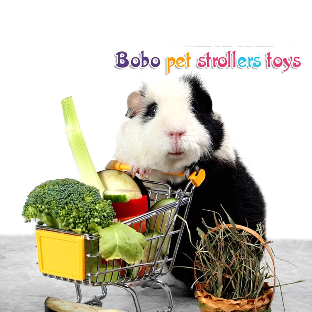 rlley mini shopping carts toy hamster toy hedgehog toys chinchilla toys guinea pig toys candy color