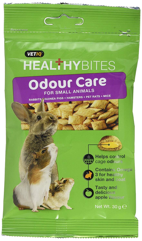 healthy bites odour care small animal treats 3 x 30g packs amazon co uk pet supplies