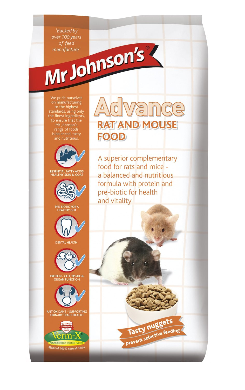 mr johnson s advance rat and mouse food 750 g amazon co uk pet supplies