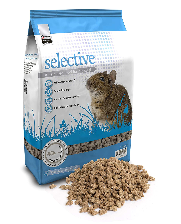 supreme petfoods science selective degu 1 5 kg amazon co uk pet supplies