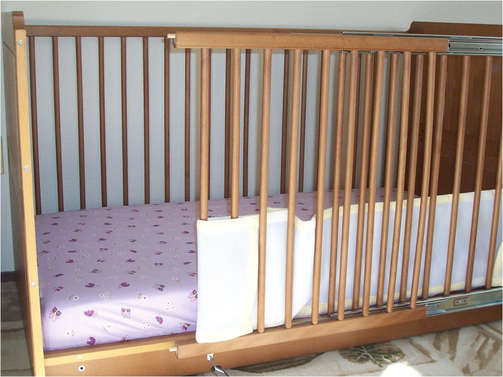Half Baby Crib attached to Bed Crib Modification for Accessibility 26 Steps with Pictures