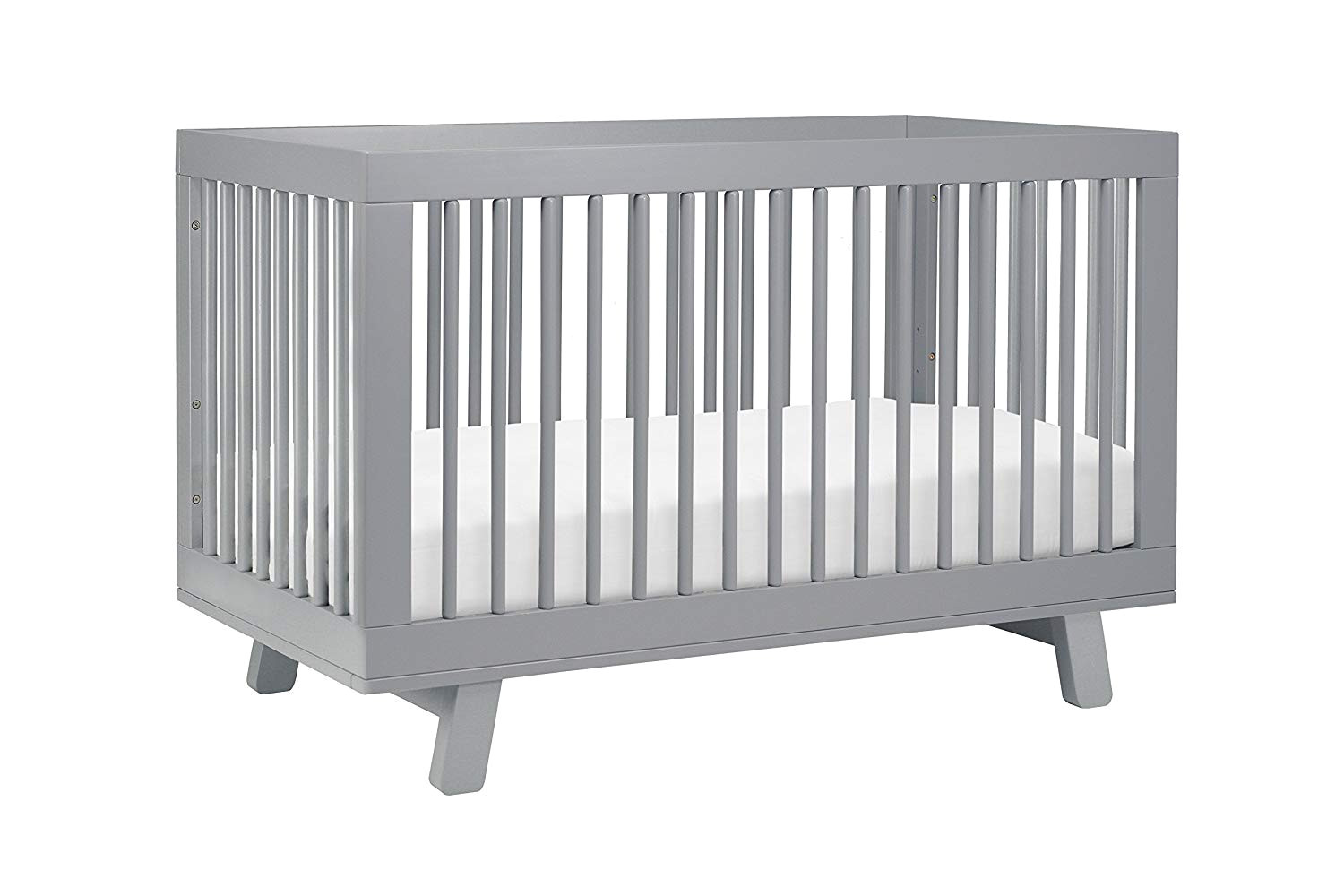amazon com babyletto hudson 3 in 1 convertible crib with toddler bed conversion kit white washed natural baby