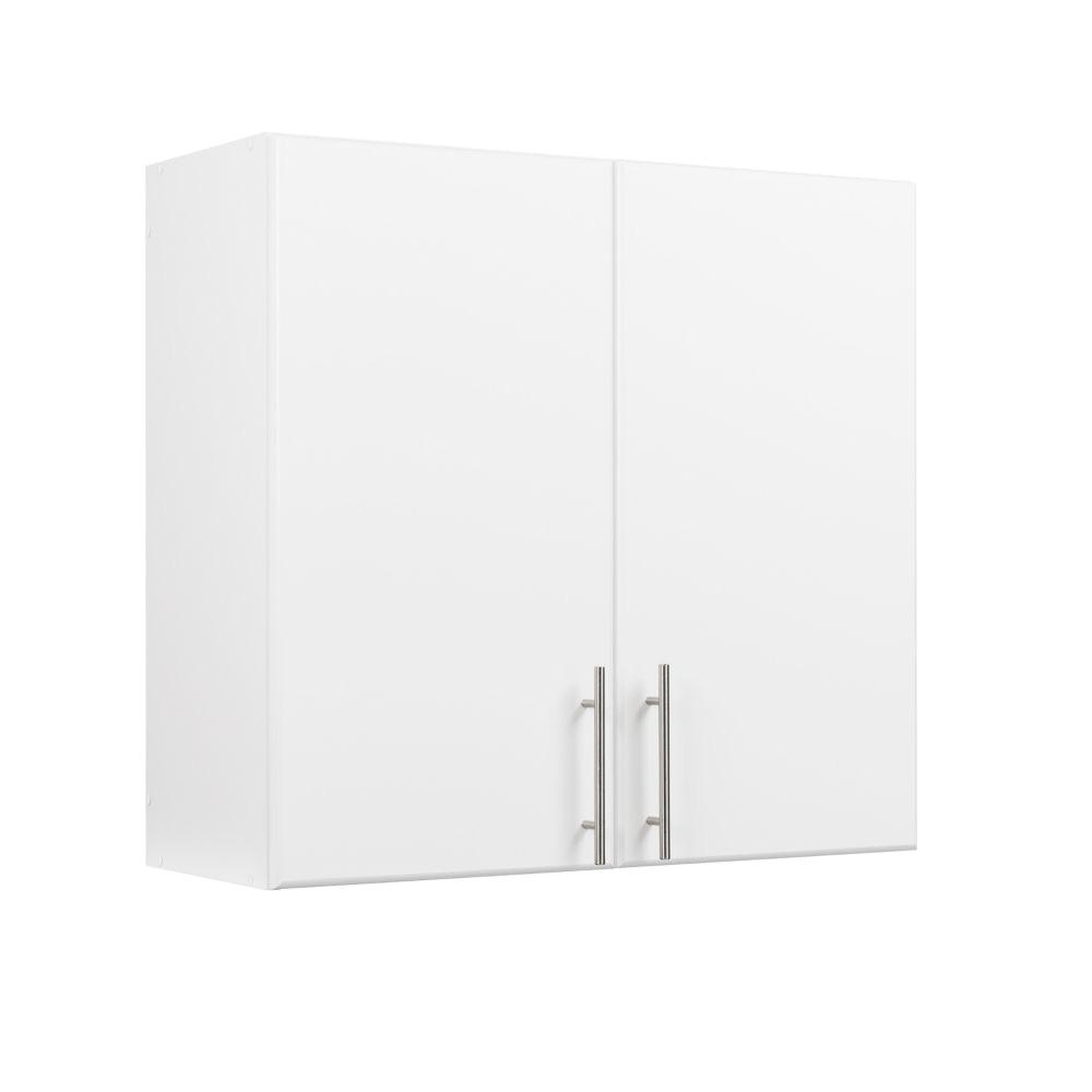 prepac elite 32 inch wall cabinet white