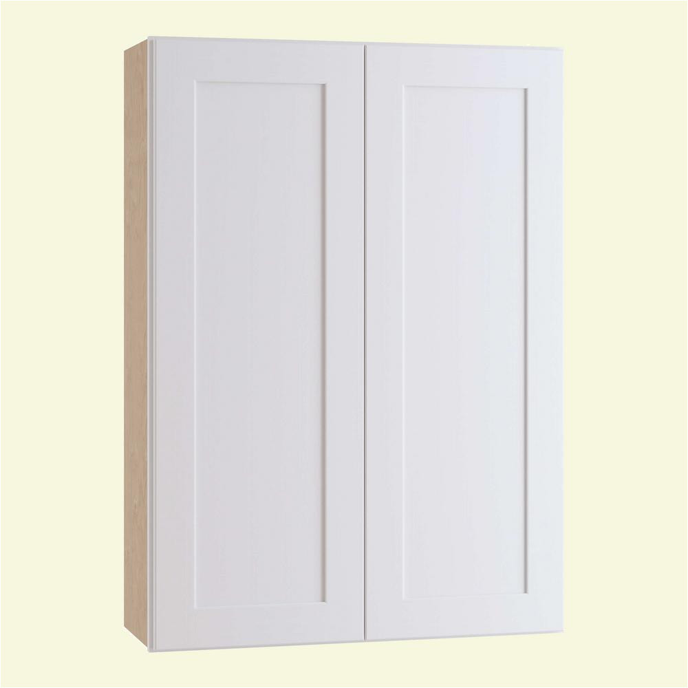 this review is from newport assembled 24 in x 36 in x 12 in wall kitchen cabinet with double doors in pacific white