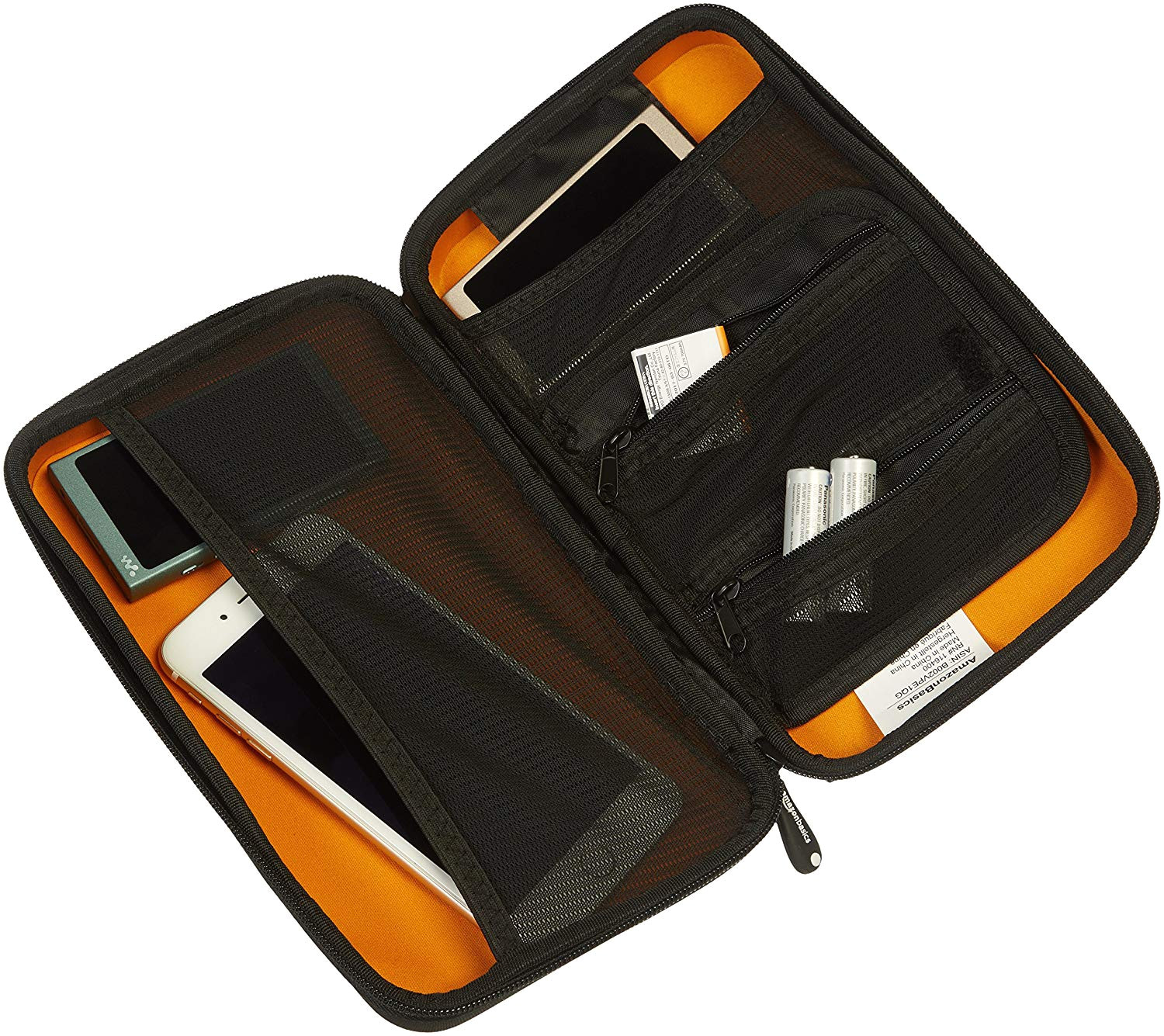 amazonbasics universal travel case for small electronics and accessories black buy amazonbasics universal travel case for small electronics and