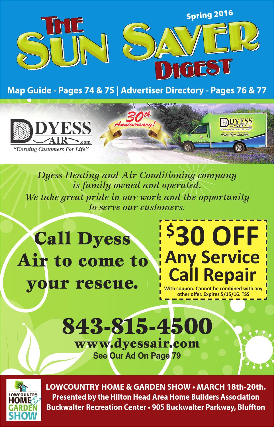 Heaven S Best Carpet Cleaning Bluffton Sc the Sun Saver Digest Spring 2016 by the Sun Saver Digest issuu