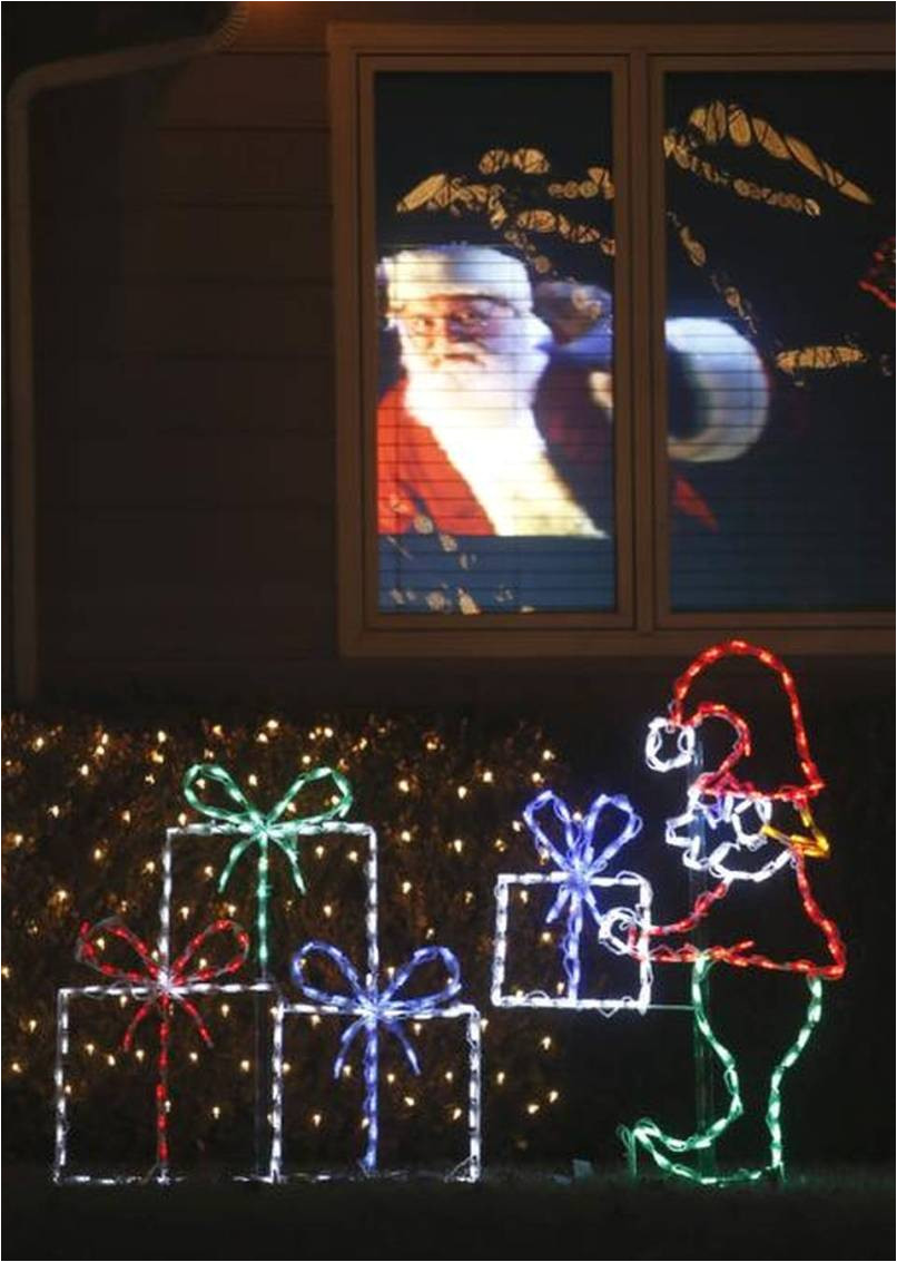 designers of christmas displays add hologram helicopter ralphie to best holiday lights displays in kansas