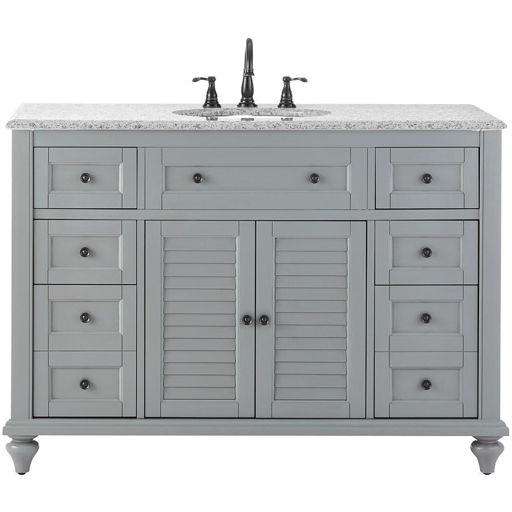 home decorators collection hamilton shutter 49 5 in w x 22 in d bath bath