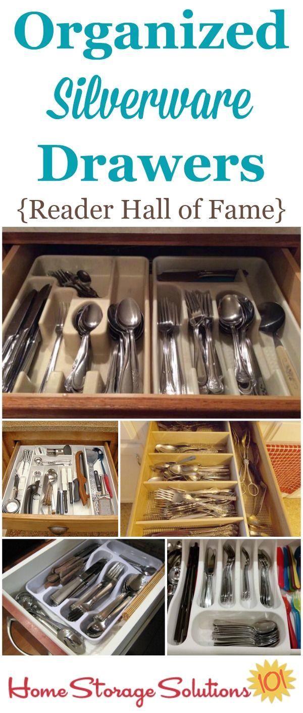 how to declutter organize silverware drawer tool organizationkitchen