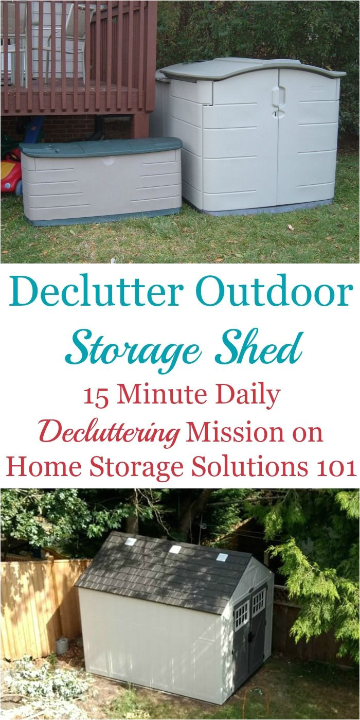 make the task less overwhelming and decide what should stay versus go from the space part of the declutter 365 missions on home storage solutions 101