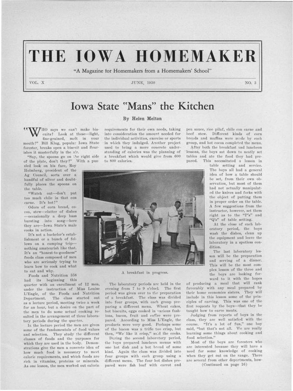 the low a homema er a magazine tor homemakers from a homemakers school