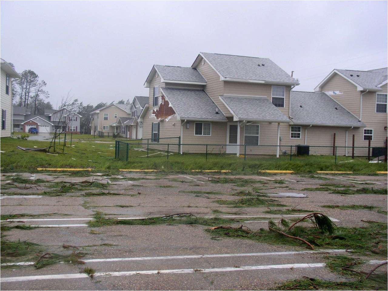 us navy 050902 n 0000x 002 the family housing area on board naval construction battalion center ncbc gulfport miss shows damage from hurricane katrina 5adf6b826bf06900373c5ac5 jpg