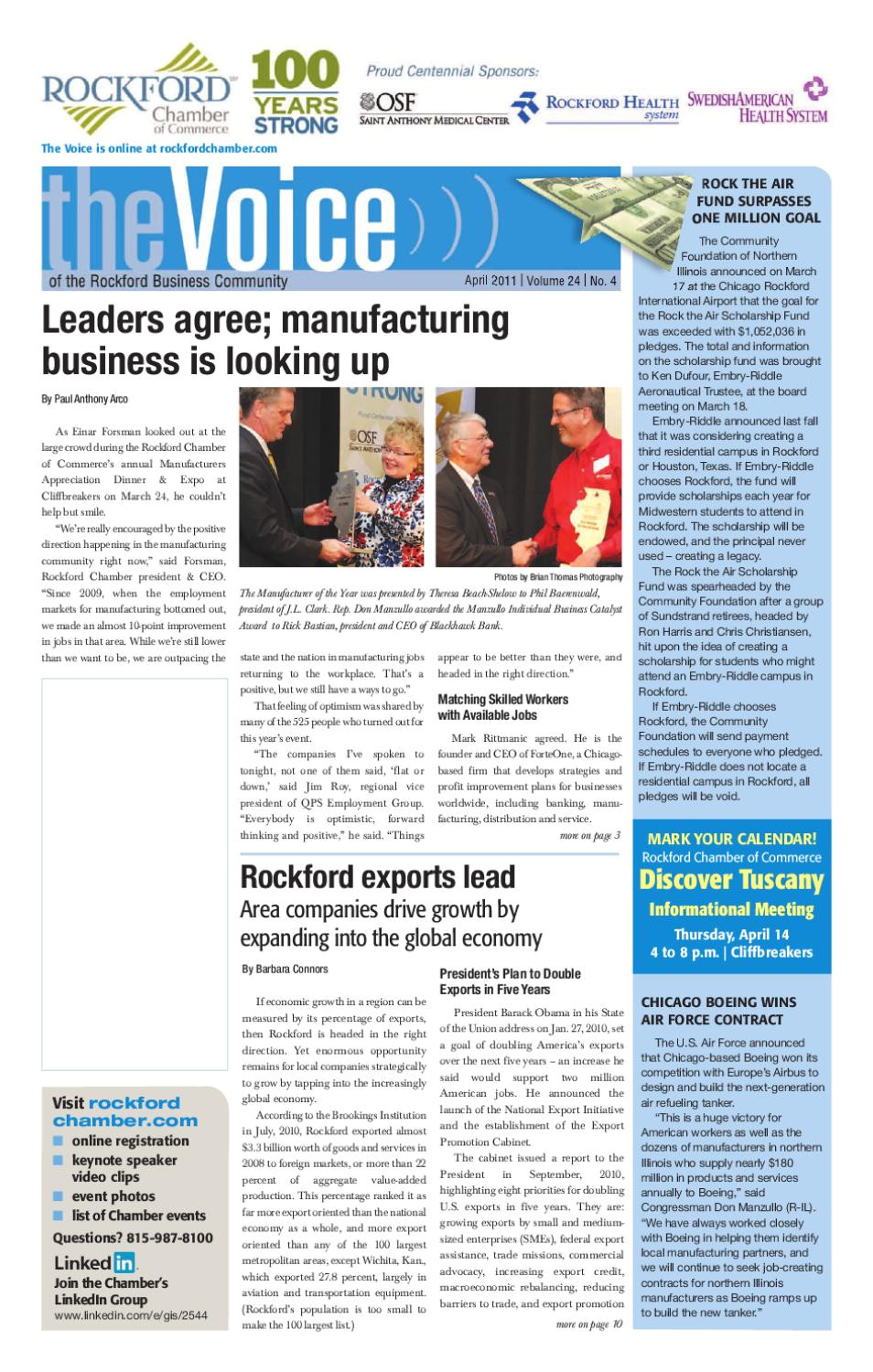 Honest Pest Control Rockford Il April 2011 Voice by Rockford Chamber Of Commerce issuu