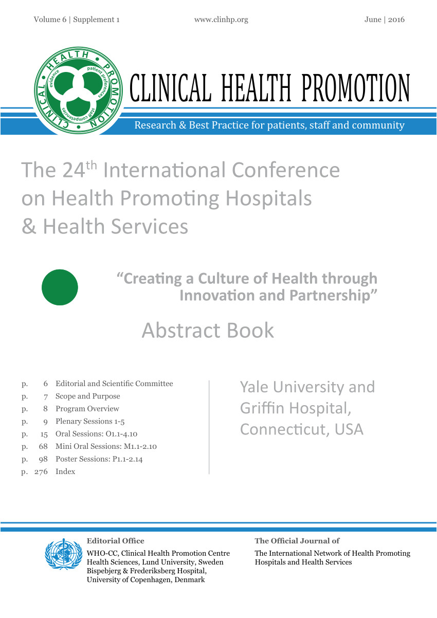 pdf promoting community health by improving health literacy through a local education network