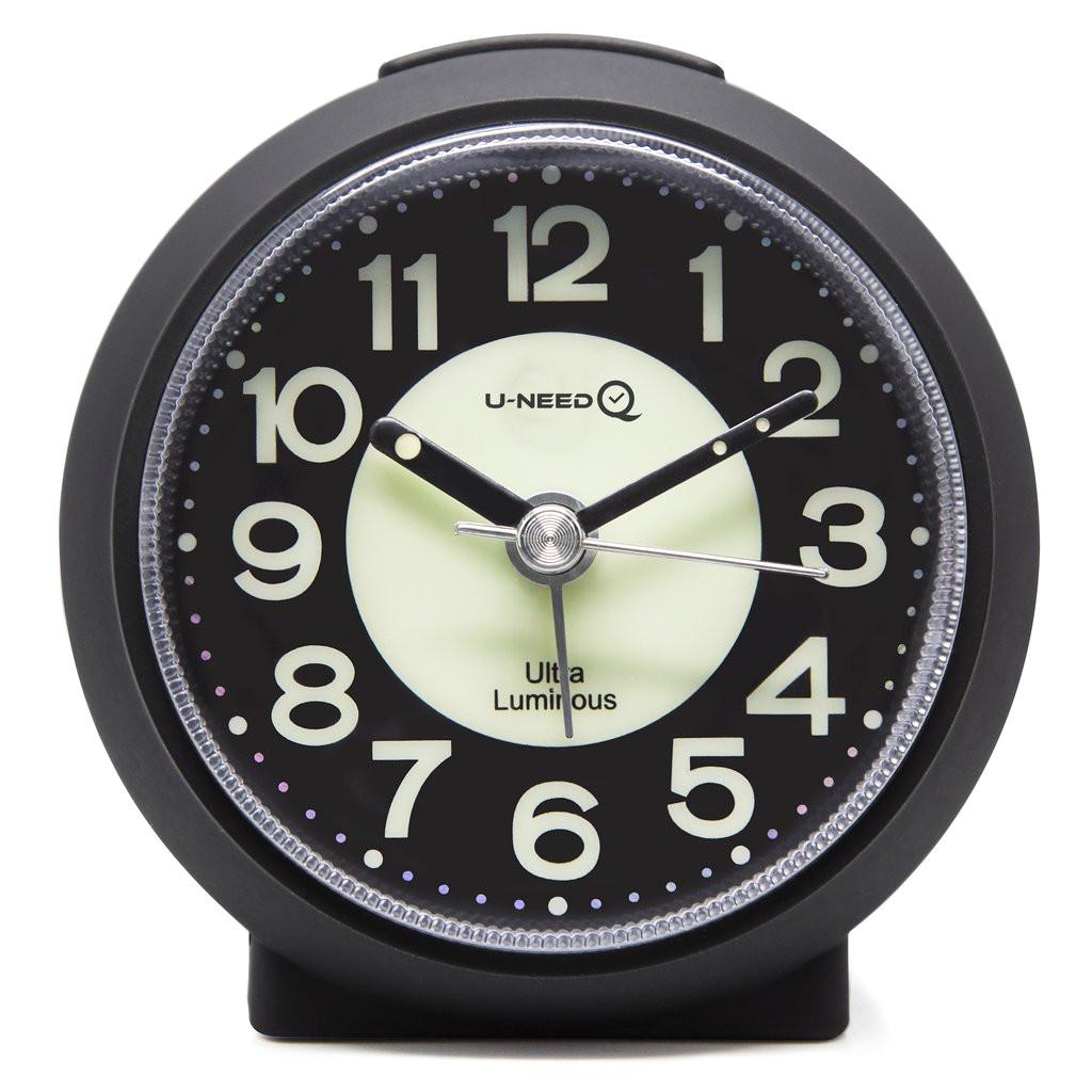 How A Battery Powered Clock Works Uneed Q Charming Luminous Non Ticking Quartz Alarm Clock Jcc
