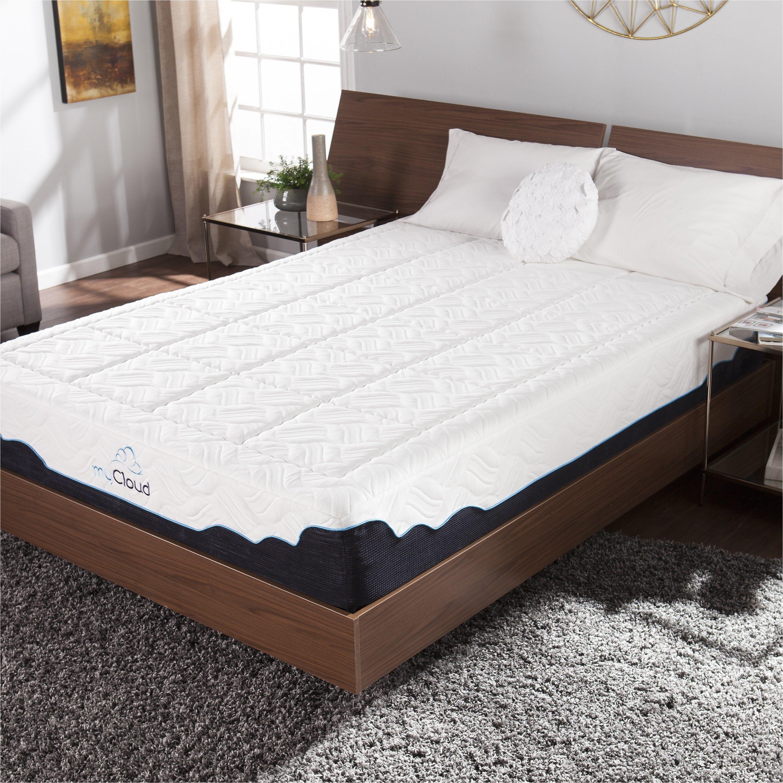 shop mycloud cirrus 12 inch twin xl size gel memory foam mattress free shipping today overstock com 12442112